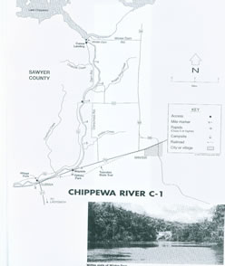 Chippewa river map 1