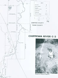 Chippewa river map 3