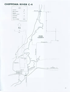 Chippewa river map 4