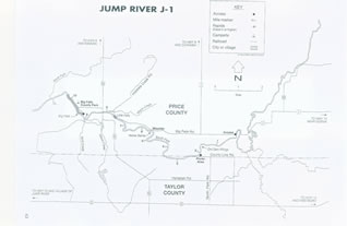Jump River 1 map